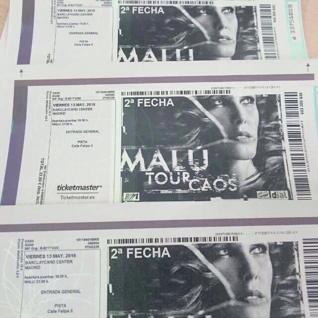 Concierto Malu 2016 Madrid