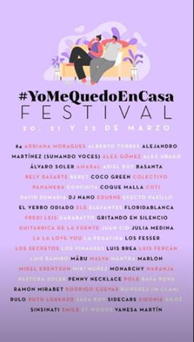 cartel_festivalyomequedoencasa